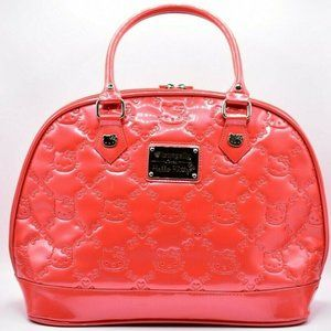 Hello Kitty Loungefly Coral Red Purse Bowling Bag